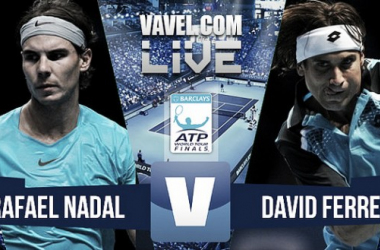 Resultado Rafael Nadal - David Ferrer en ATP Finals 2015 (2-1): no entienden de amistosos