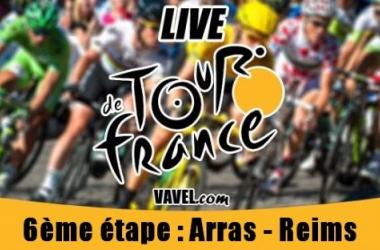 Live Tour de France 2014, la 6ème étape (Arras - Reims) en direct