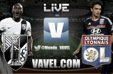 Resultado del Vitoria Guimaraes - Olympique Lyon en la fase de grupos de la Europa League 2013 (1-2)