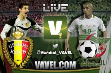 Copa do Mundo 2014: jogo Bélgica x Argélia