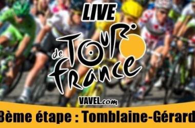 Live Tour de France 2014, la 8ème étape (Tomblaine / Gérardmer La Mauselaine) en direct