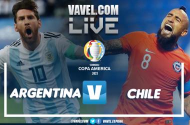 Resumen del Argentina 1-1 Chile por la Copa América 2021