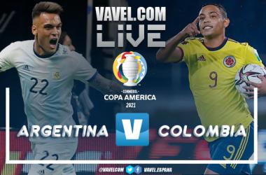 Resumen Argentina vs Colombia por la Copa América (1-1)