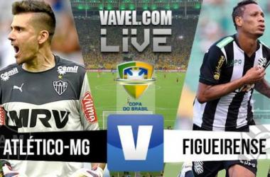 Resultado de Atlético-MG x Figueirense pela Copa do Brasil 2015 (1-1)