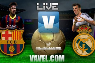 Resultado Barcelona 2-1 Real Madrid na Liga 2013