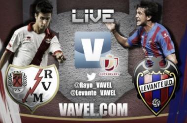 Resultado Rayo Vallecano - Levante Copa del Rey 2014 (0-0)