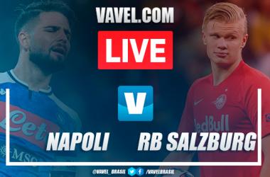 Napoli x RB Salzburg AO VIVO online pela Champions League (1-1)