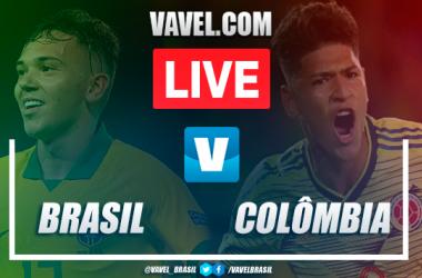Gols e melhores momentos de Brasil x Colômbia pelo Torneio Pré-Olímpico de Futebol Sub-23 (1-1)