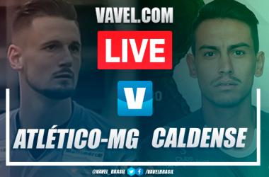 Gols e melhores momentos Atlético-MG 1x2 Caldense pelo Campeonato Mineiro