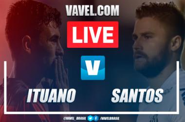 Gols e melhores momentos Ituano 2x0 Santos pelo Campeonato Paulista