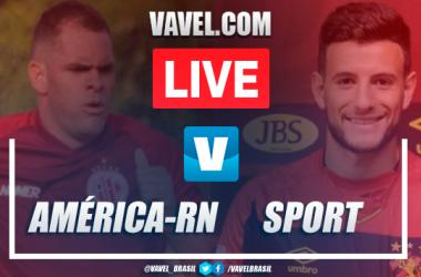 Assistir jogo América-RN x Sport AO VIVO online pela Copa do Nordeste