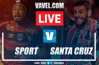 Gol e melhores momentos Sport 1x0 Santa Cruz pela Copa do Nordeste 2020