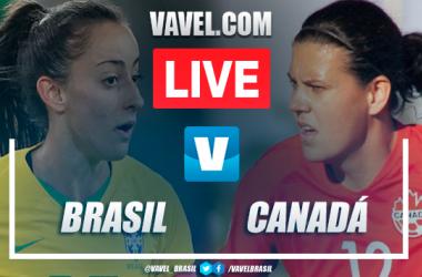 Gols e melhores momentos Brasil 2x 2 Canadá pelo Torneio Internacional da França