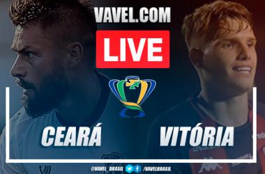 Gol e melhores momentos Ceará 1x0 Vitória pela Copa do Brasil