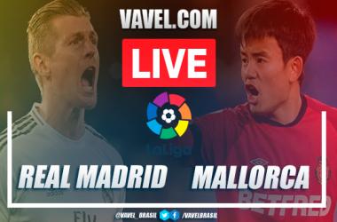 Gols e melhores momentos Real Madrid 2x0 Mallorca em LaLiga