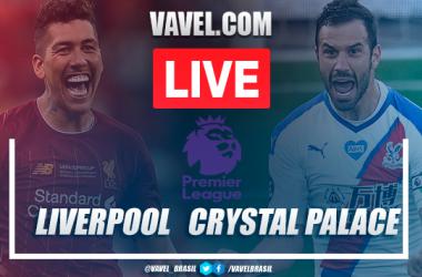 Gols e melhores momentos entre Liverpool x Crystal Palace pela Premier League (4-0)