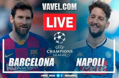 Gols e melhores momentos Barcelona 3x1 Napoli pela Champions League