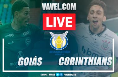 Gols e melhores momentos de Goiás 1x2 Corinthians pelo Campeonato Brasileiro (1-2)