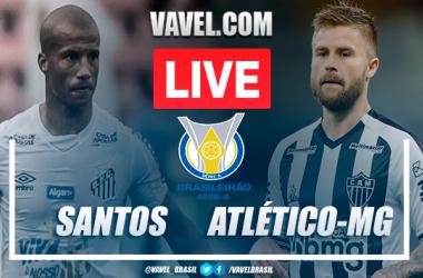 Gols e melhores momentos Santos 3x1 Atlético-MG pelo Campeonato Brasileiro