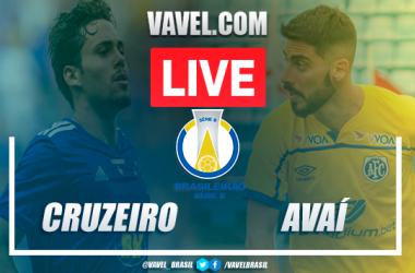 Cruzeiro x Avaí AO VIVO: jogo em tempo real pela Série B