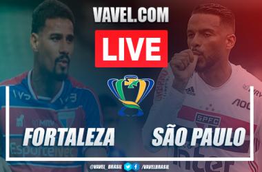 Gols e melhores momentos de Fortaleza 3 x 3 São Paulo pelas Oitavas de Final da Copa do Brasil