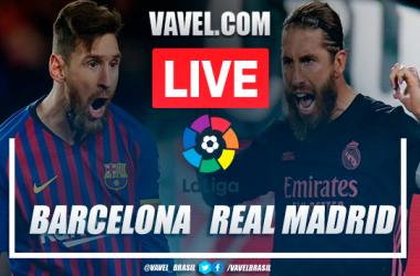 Gols e melhores momentos de Barcelona 1 x 3 Real Madrid pelo Campeonato Espanhol