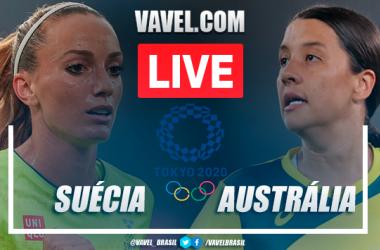 Gols e melhores momentos Suécia x Austrália pelas Olimpíadas de Tóquio (4-2)