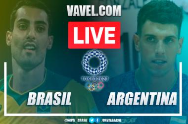 Brazil vs ArgentinaLive Score Updates in Olympics Men Volley