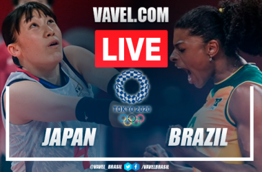 Highlights: Japan vs Brazil in women's volley Olympic Games Tokyo 2020 (0-3)