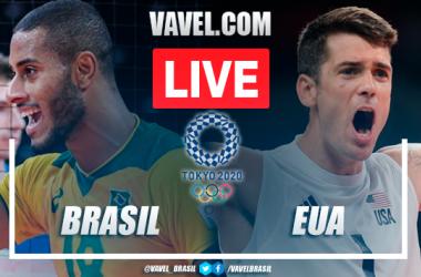 Melhores momentos Brasil x Estados Unidos no vôlei masculino pelas Olimpíadas de Tóquio (3-1)