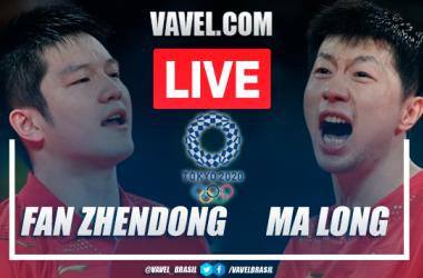 Final tênis de mesa AO VIVO: Fan Zhendong x Ma Long em tempo real nas Olimpíadas