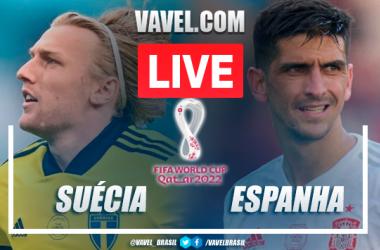 Gols e melhores momentos Suécia x Espanha pelas Eliminatórias da Copa do Mundo de 2022 (2-1)