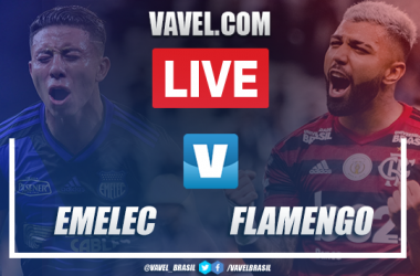 Emelec x Flamengo AO VIVO agora (2-0)