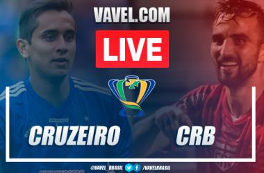 Gols e melhores momentos Cruzeiro 0x2 CRB pela Copa do Brasil