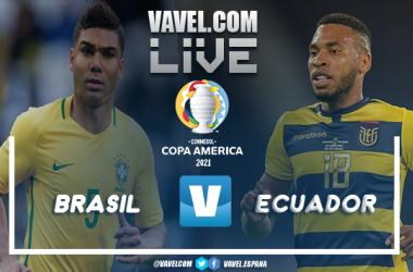 Resumen entre Brasil vs Ecuador por la Copa América 2021 (1-1)