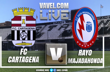 Resumen Cartagena 2-1 Rayo Majadahonda en playoffs a Segunda 2018