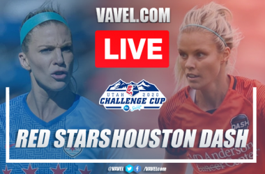 As it happened: The Houston Dash beat the Chicago Red Stars to the NWSL Challenge Cup