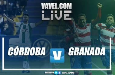 Resumen Córdoba CF 1-2 Granada CF en Segunda División 2018
