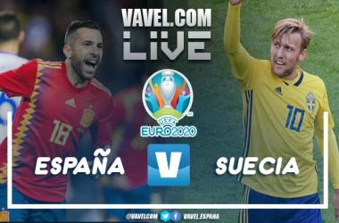 Resumen España vs Suecia (0-0) en Uefa Euro 2020