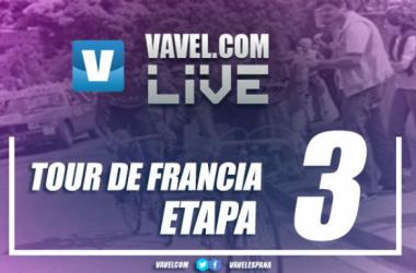 Resultado de la tercera etapa del Tour de Francia 2017: la primera de Peter Sagan