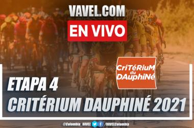 Resumen etapa 4 Critérium du Dauphiné 2021: Firminy - Roche-la-Molière (CRI)