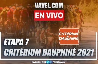 Resumen etapa 7 Critérium du Dauphiné: Saint-Martin-Le-Vinoux - La Plagne