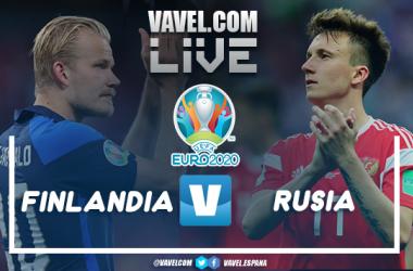 Resumen Finlandia vs Rusia (0-1) en la Eurocopa 2021