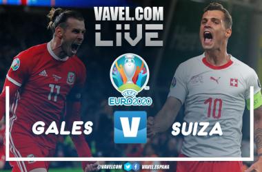 Resumen del Gales 1-1 Suiza por la UEFA Eurocopa 2020