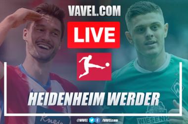 As it happened: Werder Bremen secure Bundesliga safety on away goals against Heidenheim