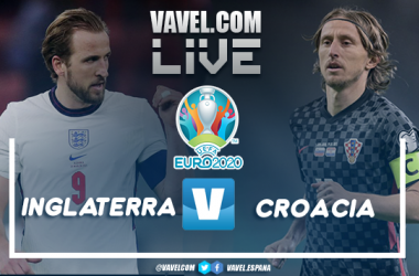 Resumen Inglaterra 1-0 Croacia por la Eurocopa 2020