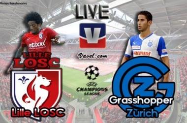 Live Ligue des Champions : Lille - Grasshopper Zurich en direct