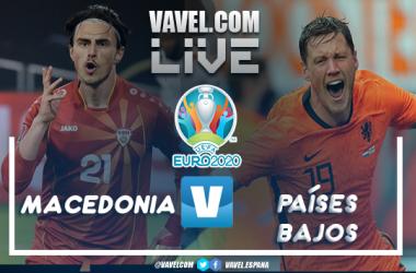 Resumen del Macedonia del Norte - Holanda en vivo y en directo en la Eurocopa 2020 (0-3)