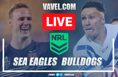 As it happened: Manly Sea Eagles comfortable 32-6 victory against Canterbury Bulldogs