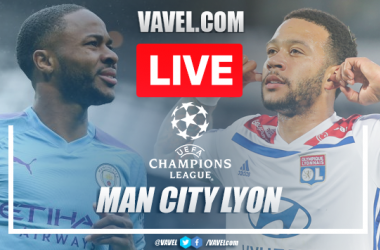 As it happened: Manchester City 1-3 Lyon in Champions League Quarter-Final
